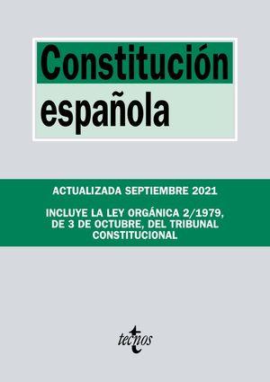 CONSTITUCIÓN ESPAÑOLA (SEPTIEMBRE 2021)