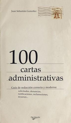 100 CARTAS ADMINISTRATIVAS