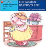 LOS ZAPATOS DE CERDITA CECI (AZUL)