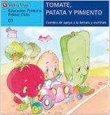 TOMATE PATATA Y PIMIENTO-AZUL