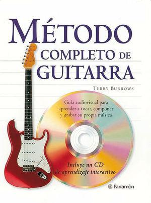 METODO COMPLETO DE GUITARRA (1 TOMO + 1 CD)