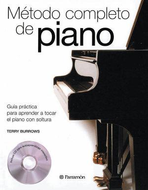 METODO COMPLETO DE PIANO (1 TOMO + 1 CD)