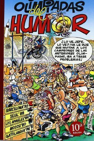 OLIMPIADAS DEL HUMOR: BARCELONA 92  SEUL 88  LOS ANGELES 84  MOSCÚ 80 (SÚPER