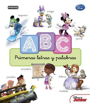 APRENDE CON DISNEY. ABC. PRIMERAS LETRAS Y PALABRAS
