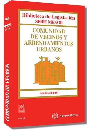 COMUNIDAD DE VECINOS Y ARRENDAMIENTOS URBANOS