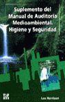 SUPLEMENTO DEL MANUAL DE AUDITORÍA MEDIOAMBIENTAL