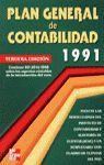 PLAN GENERAL DE CONTABILIDAD, 1991