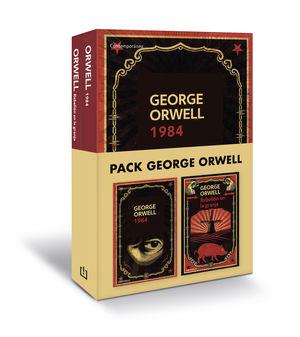 PACK GEORGE ORWELL (CONTIENE: 1984  REBELIÓN EN LA GRANJA)