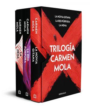 ESTUCHE TRILOGIA CARMEN MOLA