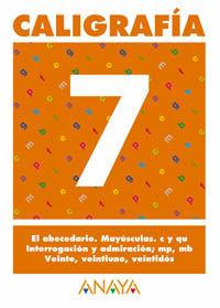 CALIGRAFÍA  7.