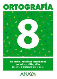 ORTOGRAFÍA  8.