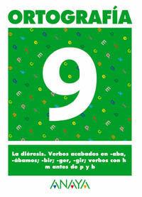 ORTOGRAFÍA  9.