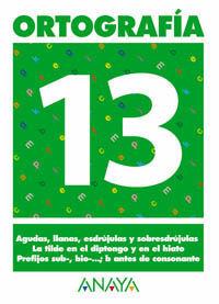 ORTOGRAFÍA 13.