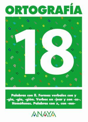 ORTOGRAFÍA 18.