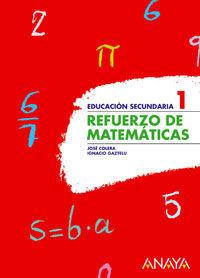 REFUERZO DE MATEMÁTICAS 1.