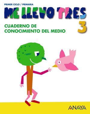 CUADERNO DE CONOCIMIENTO DEL MEDIO 3