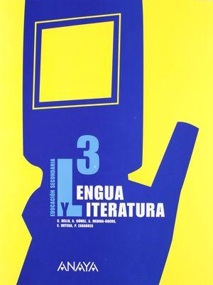 LENGUA Y LITERATURA, 3 ESO