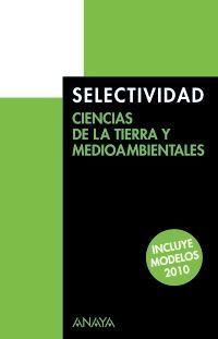 CIENCIAS DE LA TIERRA Y MEDIOAMBIENTALES.