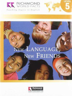 RWF 5 NEW LANGUAGE NEW FRIENDS+CD