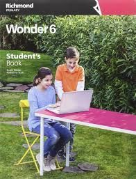 WONDER 6ºEP STUDENT'S +LANGUAGE REFERENCE (RICHMOND)