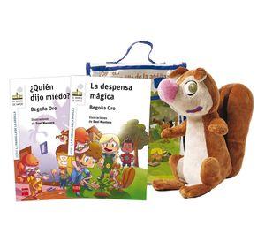 PACK DE RASI. MUÑECO DE LA PANDILLA ARDILLA