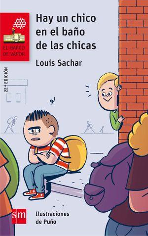 HAY UN CHICO EN EL BAÑO DE LAS CHICAS. BVR.161