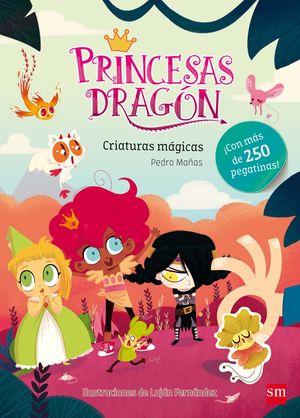 PRINCESAS DRAGÓN CRIATURAS MÁGICAS +250 PEGATINAS