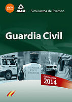 GUARDIA CIVIL. SIMULACROS DE EXAMEN E-BOOK