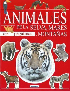 ANIMALES CON PEGATINAS (2 TITULOS)