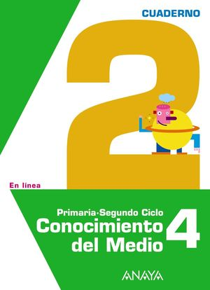 CONOCIMIENTO DEL MEDIO 4. CUADERNO 2.