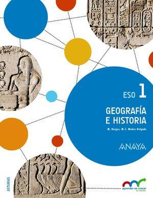 GEOGRAFÍA E HISTORIA 1ºESO APRENDER ES CRECER EN CONEXIÓN (ANAYA)