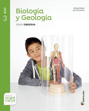 BIOLOGÍA Y GEOLOGÍA 3ºESO SABER HACER (SANTILLANA)