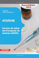 ATS/DUE DEL SERVICIO DE SALUD DEL PRINCIPADO DE ASTURIAS (SESPA). TEMARIO PARTE