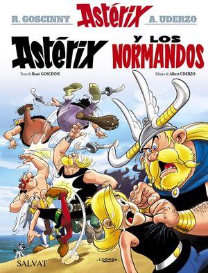 ASTÉRIX (9) Y LOS NORMANDOS