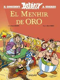 EL MENHIR DE ORO. ASTERIX