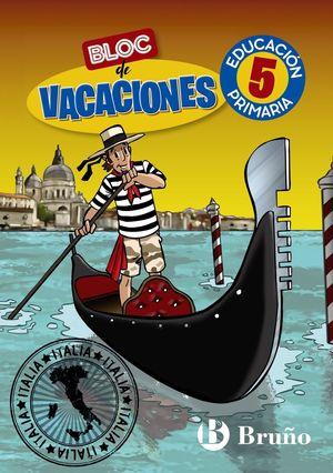 BLOC DE VACACIONES 5ºEP