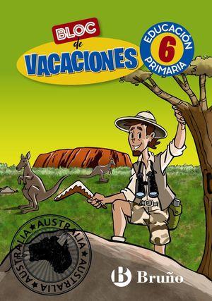 BLOC DE VACACIONES 6ºEP