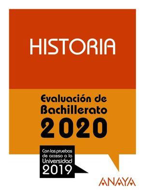 HISTORIA EBAU 2020 - PRUEBAS ACCESO UNIVERSIDAD