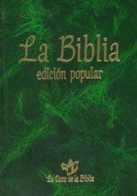 BIBLIA, EDICIÓN POPULAR BOLSILLO, CARTONÉ