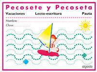 LECTOESCRITURA VACACIONES. PAUTA