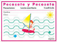 LECTOESCRITURA VACACIONES. CUADRÍCULA