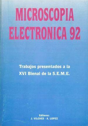 MICROSCOPÍA ELECTRÓNICA 92