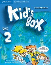 KID'S BOX FOR SPANISH SPEAKERS  LEVEL 2 PUPIL'S BOOK WITH MY HOME BOOKLET 2ND ED