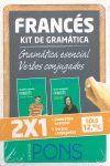 KIT DE GRAMÁTICA FRANCÉS. GRAMÁTICA ESENCIAL + VERBOS CONJUGADOS