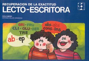 RECUPERACIÓN DE LA EXACTITUD LECTO-ESCRITORA