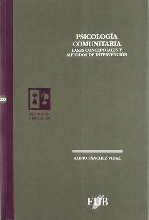 PSICOLOGIA COMUNITARIA  PE-20