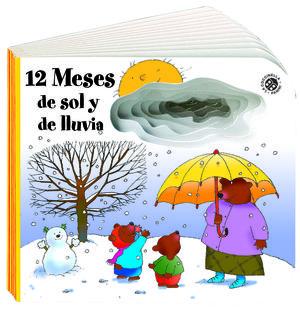 NUEVOS LIBROS CON AGUJEROS. 12 MESES DE SOL Y DE LLUVIA