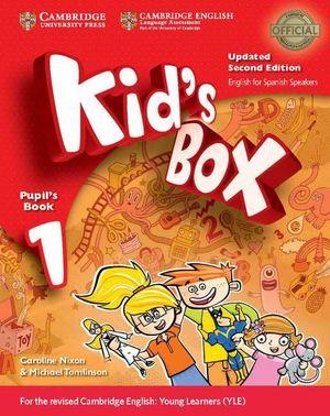 KID'S BOX 1ºEP STS+MY HOME BOOKLET (SPANISH SPEAKERS) (CAMBRIDGE)