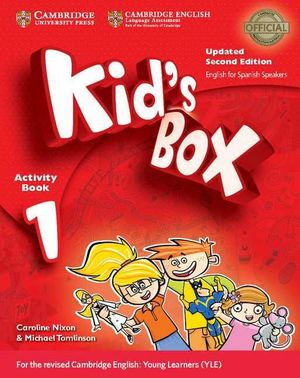 KID'S BOX 1ºEP ACTIVITY +CD (SPANISH SPEAKERS) (CAMBRIDGE)