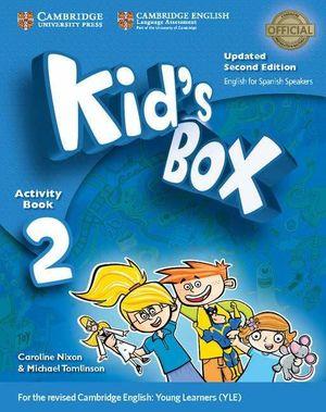 KID'S BOX 2ºEP ACTIVITY +CDS (SPANISH SPEAKERS) (CAMBRIDGE)